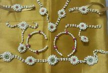 Fresh Flower Jewellery for Mehindi
