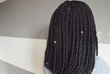 Styles de box braids