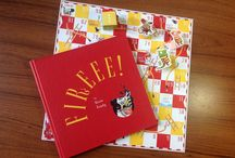 Book: Fireee! / Alphabetic picture book