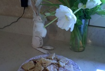 food / Yum yummy Almond Brittle Cookies / by Paula Marshall
