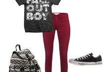 Bands inspired outfits