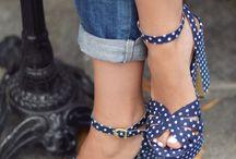 Chaussures et vêtements rétro 50's