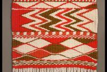 Salish weaving / Wool loon weaving