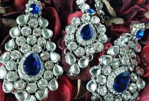 Earrings & Tikka Sets / Dazzling collection of matching earring and tikka sets.
