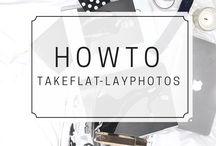 Flat Lays & Blog Photography