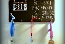 DIY Medal Hanger / Ideas for how to build your own medal hanger #diy #running #runnergirl #sweatpink