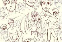 Amazing sketches ♥