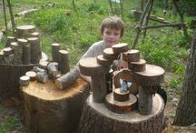 Natural play spaces, hideouts, and forts