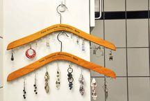 Jewellery Storage Ideas / Creative and practical ways to organize jewellry