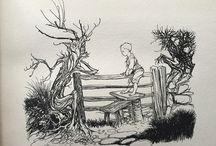 Arthur Rackham / Illustrations from Arthur Rackham's Book of Pictures