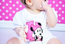 Grace's 1st birthday ! / by Angelina Cochrane