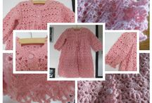 Pink Baby Sweater / This is for baby aprox 1-2 years old.