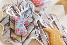Winter theme cookies