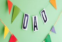 Father's Day arts and crafts / Father's Day DIY card & gift ideas and children's craft activities. / by Kate Hadfield