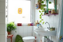 bathroom inspiration / by Jenn Riggs