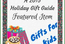 HOLIDAY GIFT GUIDES 2015 / Holiday Gift Guide 2015