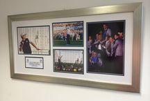 Signed Memorbillia framed / Signed work High Quality Picture Framing | Picture Frames Delivered Across The UK | Tel: 01274 724411 | www.anysizepictureframe.co.uk