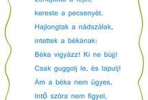 Versek, mondókák