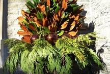 Front door planters/decor