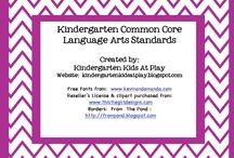 Kindergarten Common Core English Language Arts