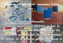 Journées du Patrimoine de Pays et des Moulins 2016 / Les artistes présents lors de la Journées du Patrimoine de Pays et des Moulins 2016