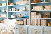 Bookcase styling / by Carla Kirste