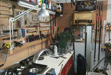workshop garage werkplaats