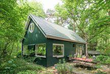 Boshuisjes in Nederland