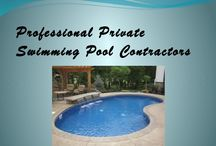 private swimming pool construction