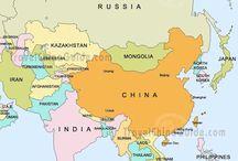 aasian kartta