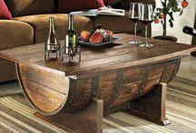 mobili legno rustico