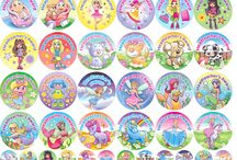 Rewards for Girls / Stickers, Certificates and other items for rewards girls.