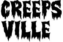 horror typeface