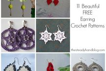 Crochet Earring / #CrochetEarring#Crochet#Earring