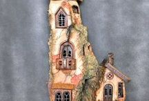 pottery houses.....
