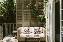 outside living area / by Tammy Hoppa