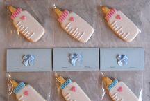 Baby Cookies Cupcakes
