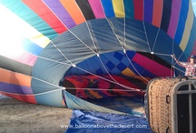 Flying over Palm Springs in November / Balloons Above gives hot air balloon rides in the Coachella Valley in the Fall.  From the balloon you can see from the Salton Sea to Palm Desert and on to Palm Springs.  For more info visit www.BalloonAboveTheDesert.com