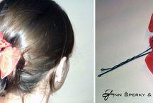 Účesy (hairstyle) / mnou vytvořené účesy, nápady, ozdoby, návody...