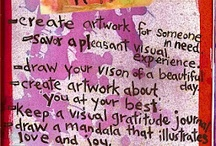 Artsy Techniques & Creative Ideas / Build, make, create, paint, and more / by Art Therapy Alliance