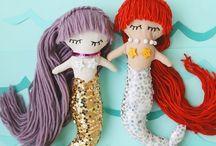 Bonecas e sereias