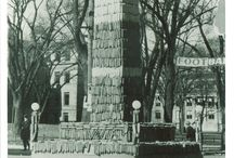 IDL: Iowa Corn Monuments / Pictures of the University of Iowa homecoming monuments -- see more here http://digital.lib.uiowa.edu/cdm/search/collection/ictcs/searchterm/corn%20monument/field/all/mode/all/conn/and/order/date