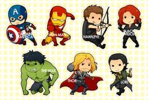 Superheros! / I think I have a crush on every superhero out there. / by Anne Ateca