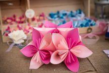 Kusudama AD creazioni in carta / Kusudama, fiori in carta con tecnica origami