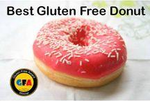 Best Gluten Free Donuts / Best Gluten Free Donuts from The Annual Gluten Free Awards http://www.gfreek.com/Best_Gluten_Free_Donut.html