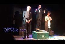 Theater / Promotie voor de amateur toneelvereniging 's-Gravenspel uit 's-Gravenzande in de Gemeente Westland.