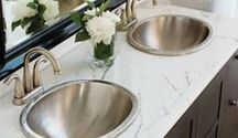 Rustic Staple Turned Artistic Beauty - Copper Sinks / Thompson Traders takes traditionally rustic copper and turns it into graceful works of art for your kitchen and your bathroom.