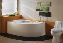 Soaking tubs - contemporary designs / Fresh ideas for bathtubs!
