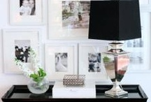 Displaying photography / a little inspiration for displaying photography