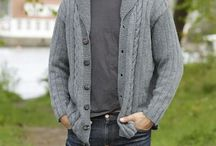 Knitted Mens Jacket